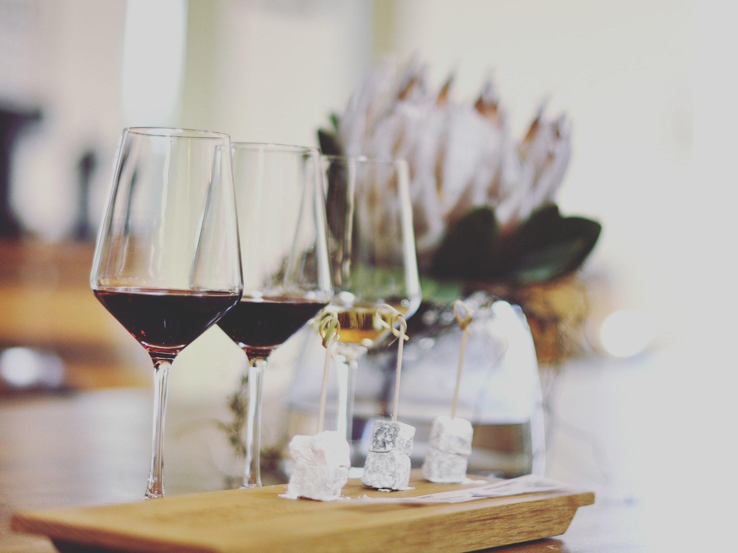 Lokum and Wine - LaBri Estate -Franschhoek Vineyard Hopper