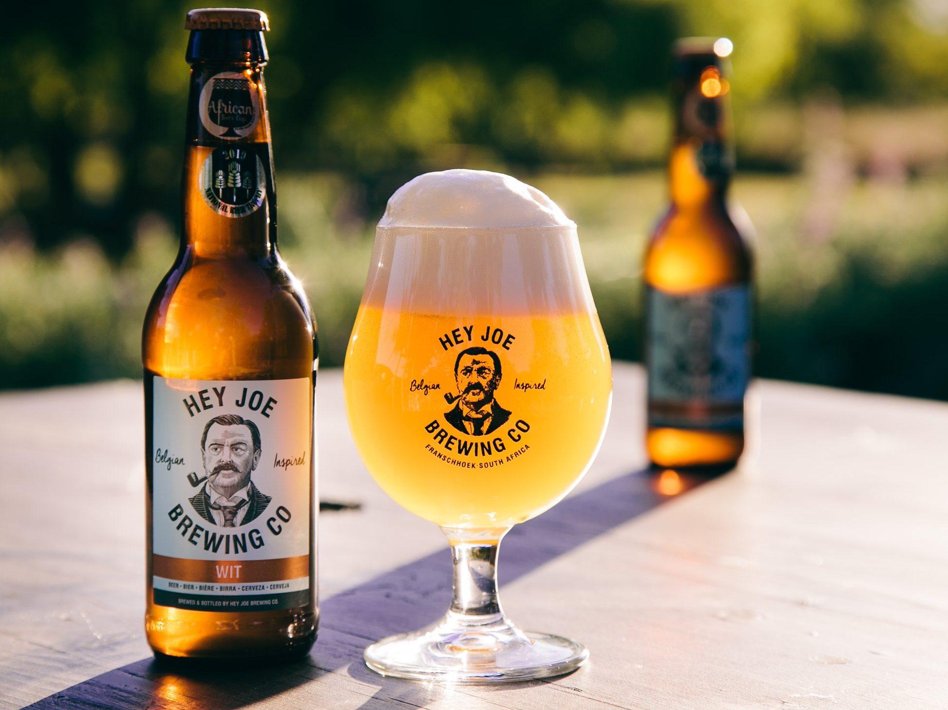 Craft Beer - Hey Joe Brewering Co - Franschhoek Vineyard Hopper