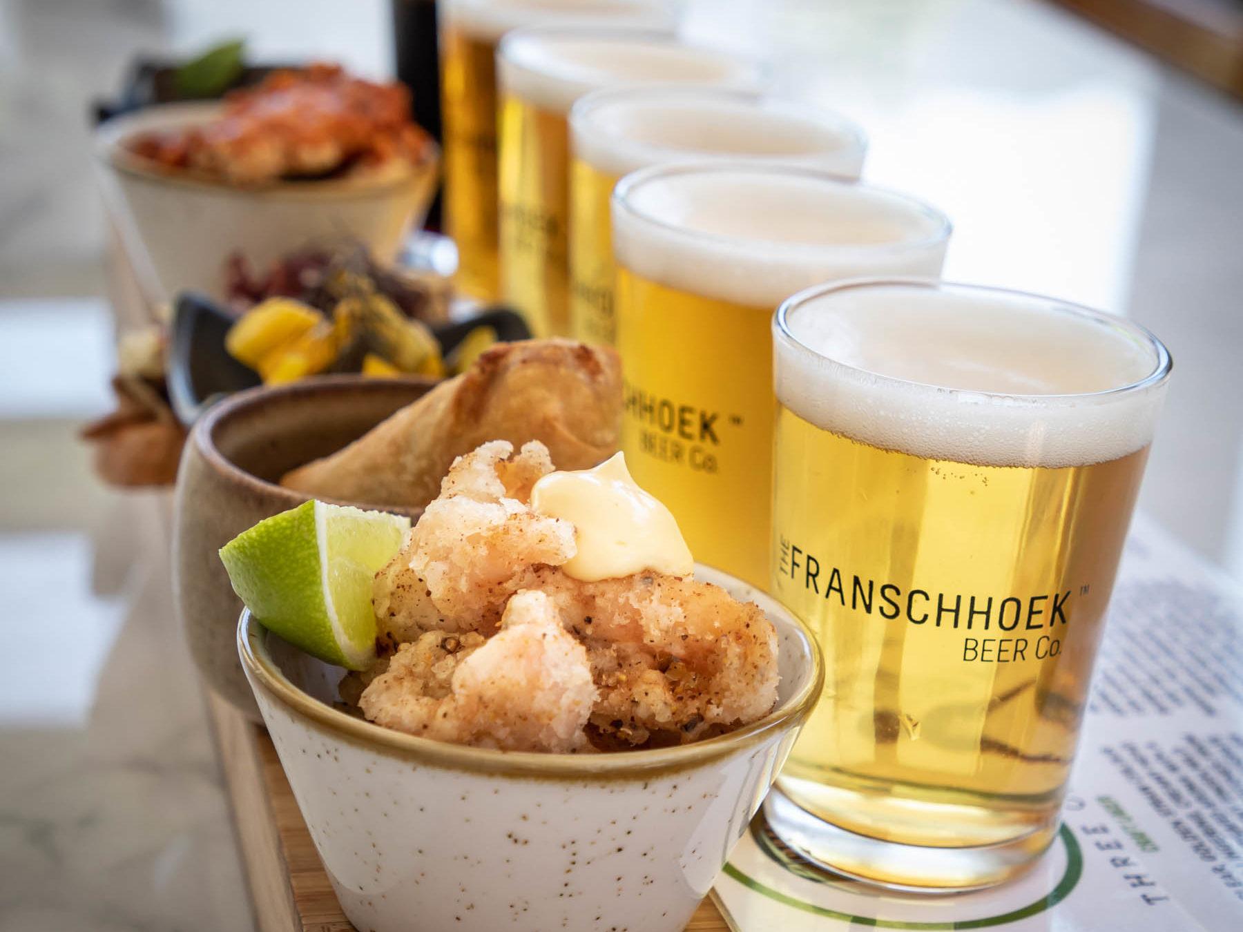 Craft Beer - The Franschhoek Beer Company - Franschhoek Vineyard Hopper