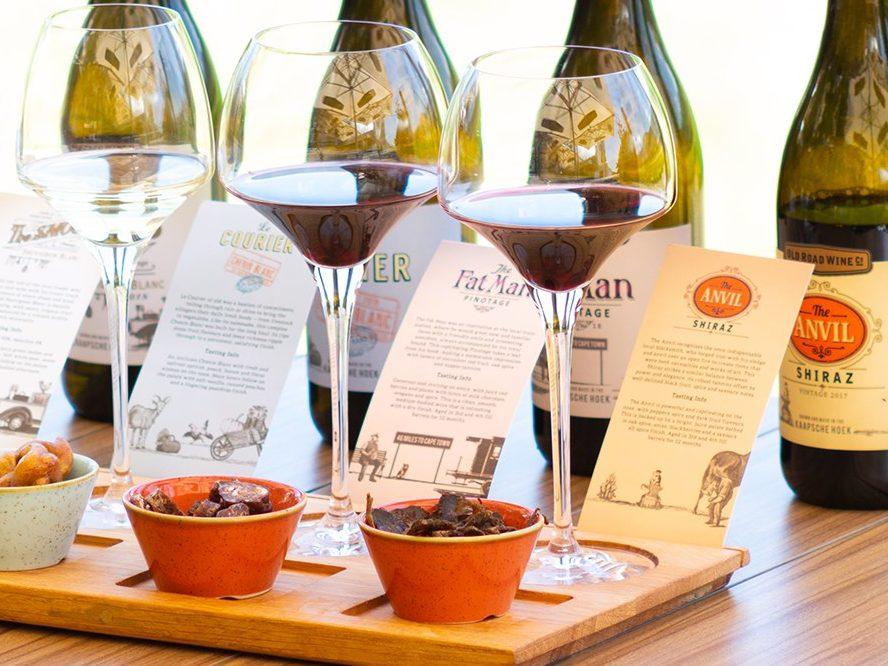 Traditional Snacks Pairing - Franschhoek Vineyard Hopper